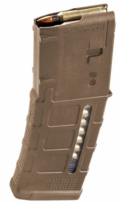 Magpul PMAG Gen M3 30 Round Window 5.56x45 AR15/M16 Magazine - Medium Coyote Tan MAG556-MCT