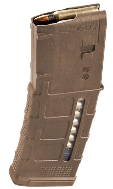 Magpul PMAG Gen M3 30 Round Window 5.56x45 AR15/M16 Magazine - Medium Coyote Tan MAG556-MCT