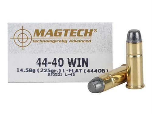 Surplus Ammo | Surplusammo.com 44-40 Win 225 Grain LFN Magtech Ammunition