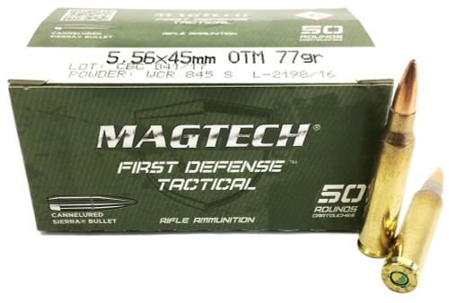 5.56 MK262 MOD1 77 Grain Sierra MatchKing OTM CBC Magtech CBC556C