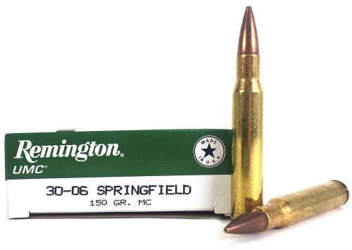 30-06 Springfield 150 Grain FMJ Remington UMC - 200 Rounds L30062 / 23699
