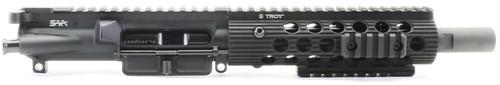 "Surplus Ammo | Surplusammo.com SAA 8"" 5.56 NATO Free Float Troy ALPHA7 Series Complete AR-15 NFA/Pistol Upper Receiver"