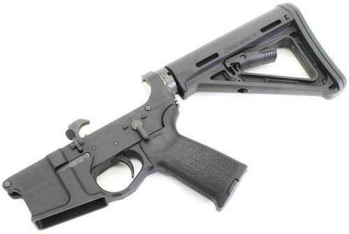 SOTA - Patriot PA 15 Billet AR15 Complete Lower with Magpul MOE Furniture SOTA-PA15-COMP-STK-MOE