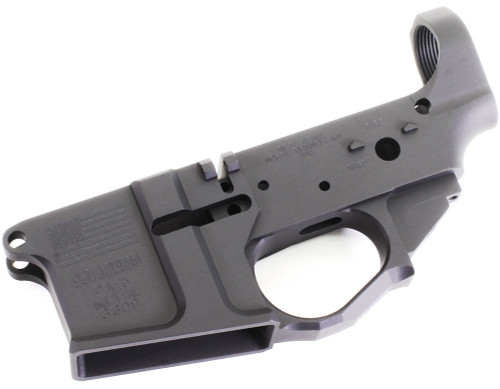 SOTA - Patriot PA 15 Billet AR15 Stripped Lower Receiver SOTA-PA15-STRPD-BLLT