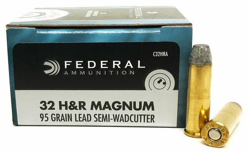 32 H&R Magnum 95 Grain LSWC Federal Personal Defense FDC32HRA