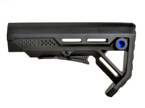 Surplus Ammo | Surplusammo.com Strike Industries MOD-1 Viper Stock - Black/Blue(SI-VIPER-ES-MOD1BK-BLU)