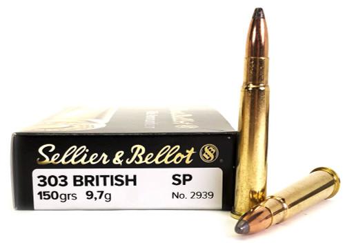 303 British 150 Grain SP Sellier & Bellot SB303B