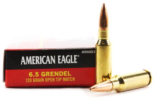 6.5 Grendel 120 Grain OTM Federal American Eagle FDAE65GDL1