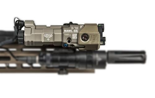 B.E. Meyers Mawl-C1+ IR / Visible Laser with EC2 Tail Cap - FDE BEM-MAWL-C1-FDE