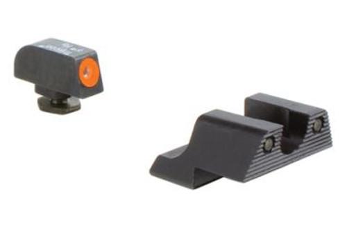 Surplus Ammo   Surplusammo.com Trijicon Glock 42/43 HD Night Sight Set - Orange Front Sight