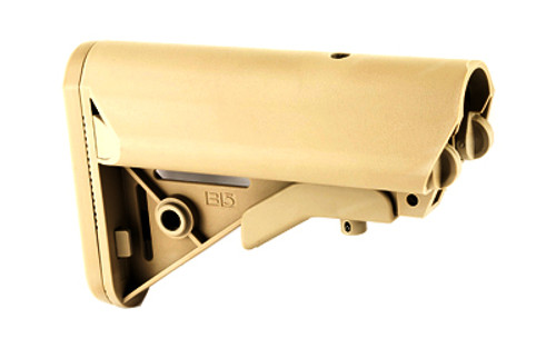 Surplus Ammo | Surplusammo.com B5 Systems SOPMOD Butt-Stock Mil-Spec with Quick Detach Mount - FDE  (SOPMOD-FDE)