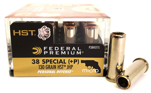 9mm 124 Grain +P HST Federal Tactical - 50 Rounds