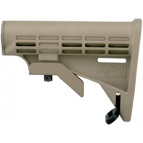 Tapco M4 Carbine Stock Body Commercial Size - FDE