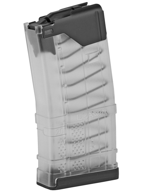 Lancer Systems L5AWM Clear AR-15 Magazine - 20 Rounds, .223/5.56 999-000-2320-32