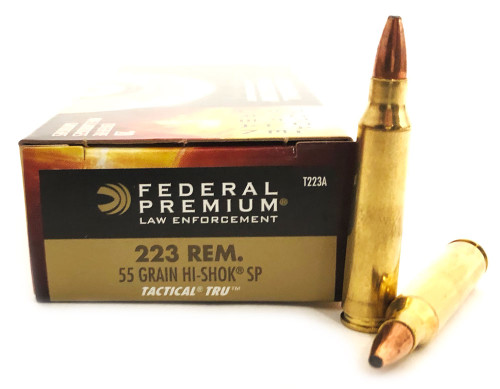 .223 55 Grain Hi-Shok SP Federal Tactical TRU T223A FDT223A