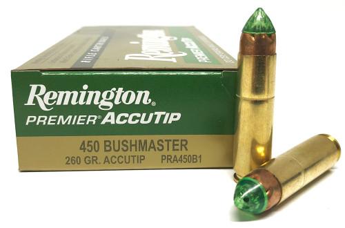.450 Bushmaster 260gr Remington Premier Accutip HP PRA450B1