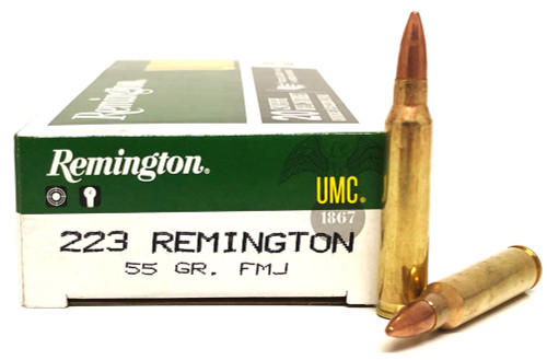.223 55 Grain FMJ-BT Remington UMC RML223R3B