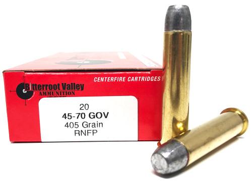 45-70 Govt. 405 Grain Lead RNFP BVAC NEW FBV45-70GOV-1N