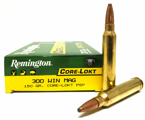.300 Win Mag 150 Gr Core-Lokt PSP Remington RMR300W1