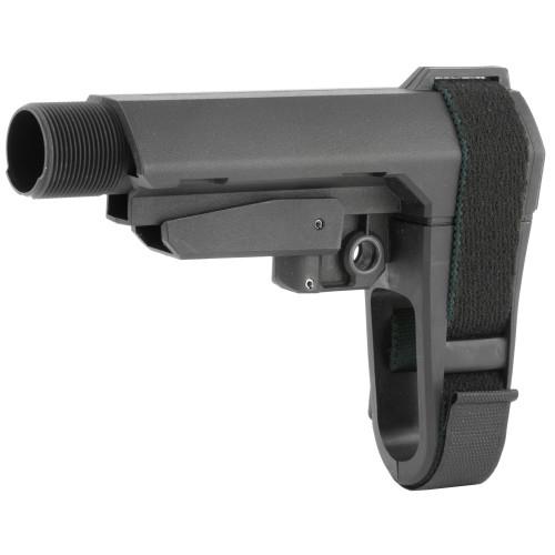 Surplus Ammo | Surplusammo.com SB Tactical SBA3 Pistol Stabilizing Collapsing Brace - Black