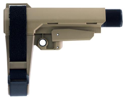 SB Tactical SBA3 Pistol Stabilizing Collapsing Brace - Flat Dark Earth