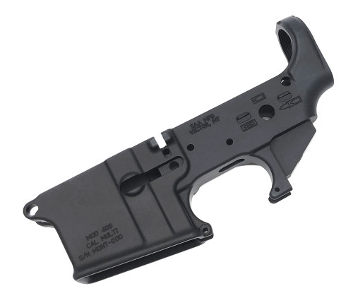 SAA - AR15 Stripped FORGED Lower Receiver - No Logo SAA-MONT406-Strpd
