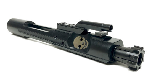 SAA AR-15/M16 SKULL FACE Complete M16 Style Bolt Carrier Group (BCG) MPI NITRIDE - .223/5.56/300AAC SAABP042