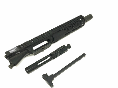 "SAA 8"" 300 AAC/Blackout BudgetC Series Nitride, 7"" MLOK Free Float Upper Receiver SAAURG175"