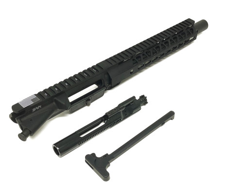 "SAA 10.5"" 300 AAC/Blackout BudgetC Series Nitride, 10"" KEYMOD Free Float Upper Receiver SAAURG177"