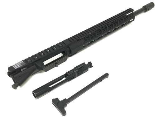 "SAA 16"" 300 AAC/Blackout BudgetC Series Nitride, 12"" MLOK Free Float Upper Receiver SAAURG042"