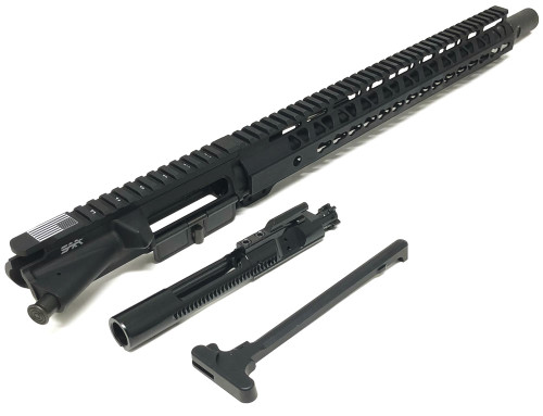 "SAA 16"" 300 AAC/Blackout BudgetC Series Nitride, 15"" KEYMOD Free Float Upper Receiver SAAURG043"
