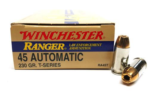 45 ACP 230 Grain FMJ Winchester Ranger LE WNRA45T