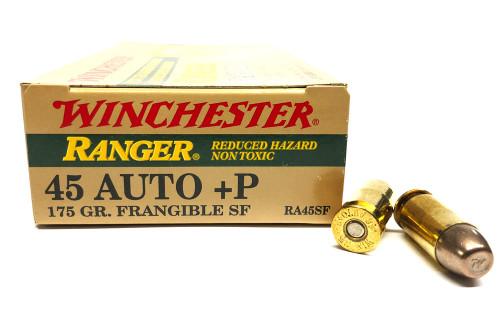 45 ACP 175 Grain FMJ Winchester Ranger Frangible WNRA455F