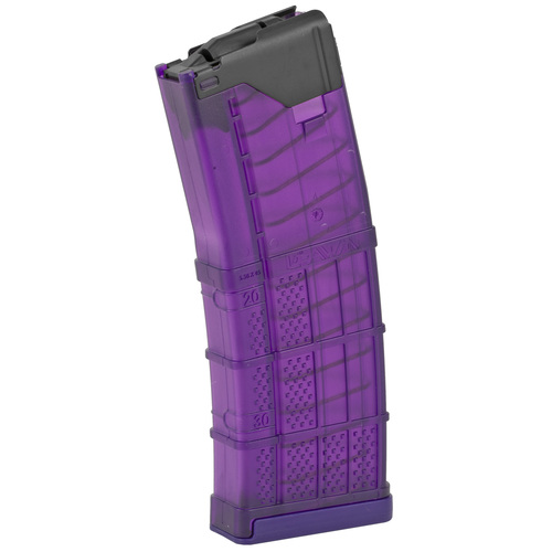 Lancer Systems L5AWM Translucent PURPLE AR-15 Magazine - 30 Rounds .223/5.56 999-000-2320-50