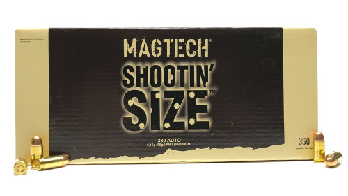380 Auto 95 Grain FMC Magtech Shootin' Size - 350 Rounds MP380GM