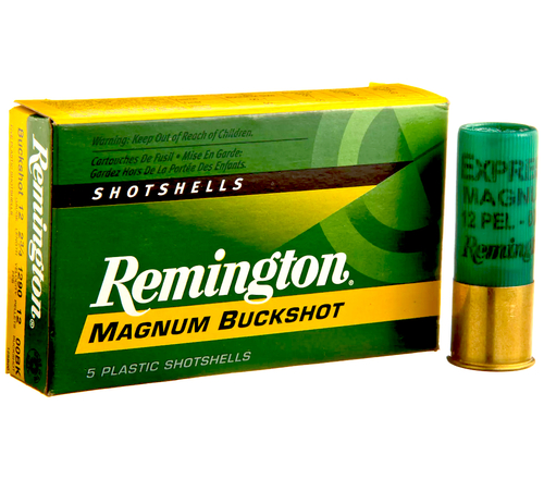"12 Gauge Remington Magnum Buckshot #000 Buck, 10 Pellet 3"" 12HB000 RM12HB000-20408"