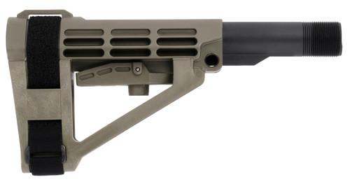 SB Tactical SBA4 Pistol Stabilizing Collapsing Brace - ODG SBA4ODG