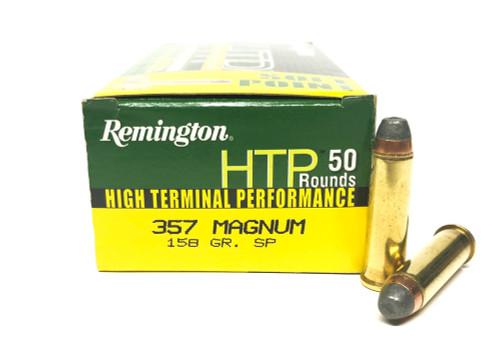357 Magnum 158 Grain SP Remington High Terminal Performance RMRTP357M3/22221