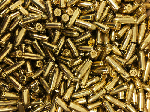 9mm 115 Grain FMJ SAA - 500 Rounds NEW, Bulk-- SA9N