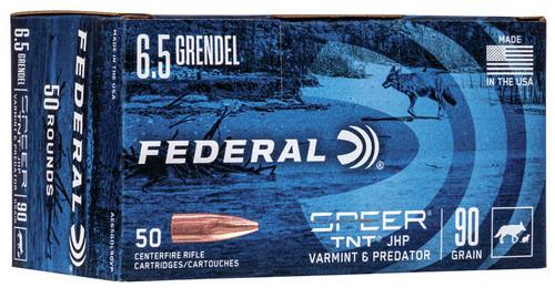 6.5 Grendel 90 Grain Speer-TNT - Federal American Eagle FDAE65GDL90VP