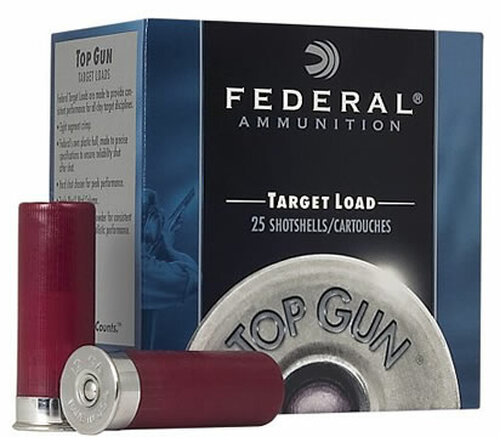 "12 Gauge Federal Top Gun Target 2 3/4"" 1 1/8oz. #9 Shot - 25 Rounds FDTGL12 9"