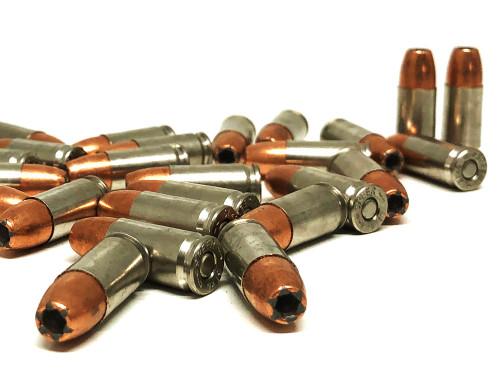 9mm 124 Grain GDHP Nickel Cased - SAA Personal Protection - 20 rds Bulk, NEW SAN9124GDHP-20