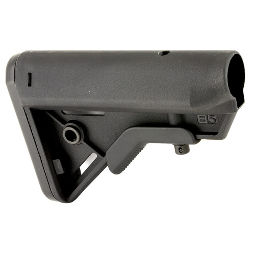 B5 Systems BRAVO Stock, Mil Spec, Quick Detach Mount, Black BRV1082