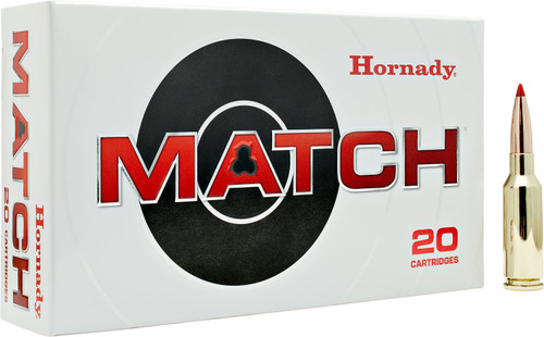 6MM ARC 108 Grain ELD Hornady Match 81608 - 20 Rounds  HO81608