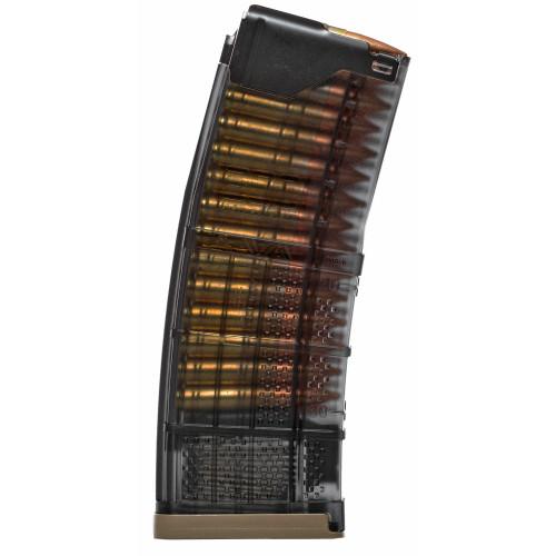 Lancer Systems 300BLK L5AW AR-15 Magazine - 30rd- Translucent Smoke 300Blackout 999-000-4280-01
