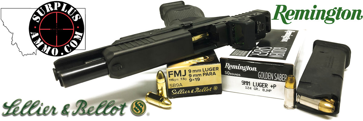 9mm Luger Bulk Ammo For Sale In Stock - Surplus Ammo