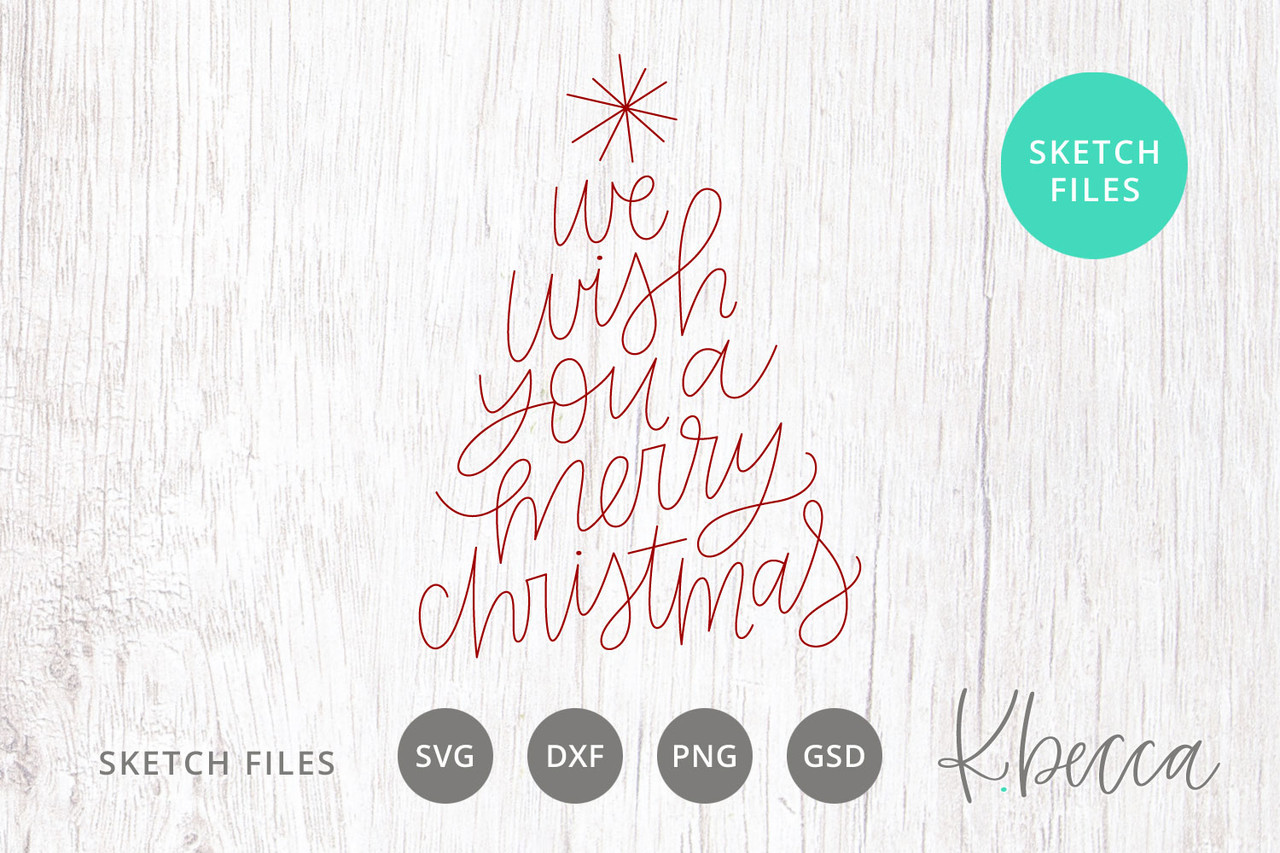 This is a photo of Words to We Wish You a Merry Christmas Printable regarding full