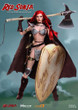 red sonja sixth scale figure