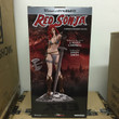 women of dynamite red sonja statue-d