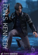 hot toys leon s kennedy 1/6 scale figure resident evil 6